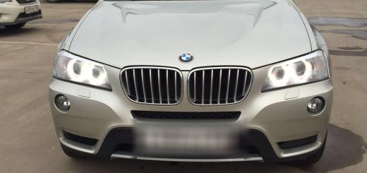BMW X3 20i xDrive 2.0 AT (184 л.с.) 4WD отзыв автовладельца