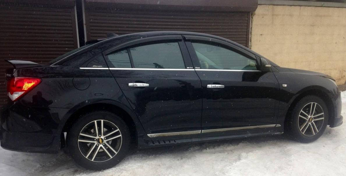 Chevrolet Cruze 1.6 MT (109 л.с.)  2013 отзыв автовладельца