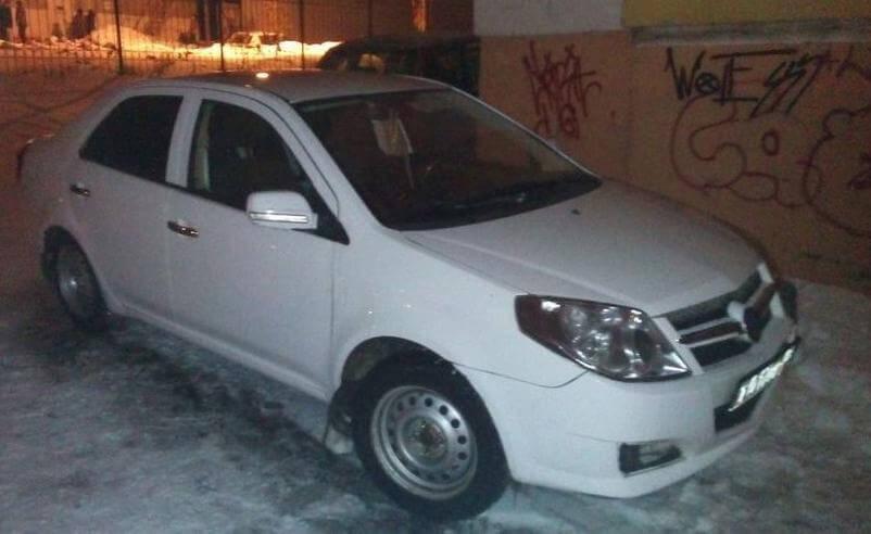 GEELY MK 2013, седан, 1.5 л., механика, бензиновый отзыв автовладельца