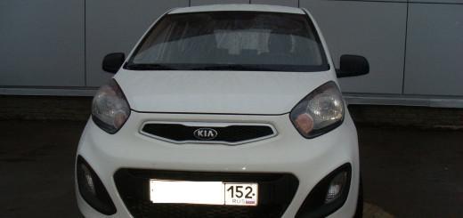 Kia Picanto 2012 год, объем 1.2 отзыв автовладельца