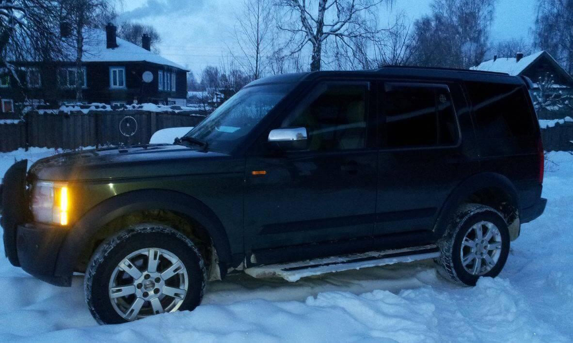 Land Rover Discovery 3.0d AT (249 л.с.) 4WD отзыв автовладельца
