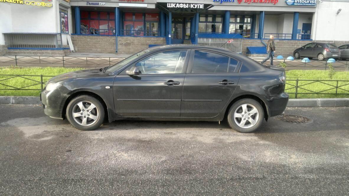 Mazda 3 1.6 MT 2008  отзыв автовладельца