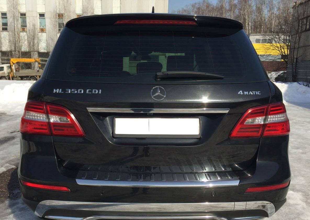 Mercedes-Benz, M-klasse, 350 CDI, 3.0d, AT, (249 л.с.), 4WD отзыв автовладельца