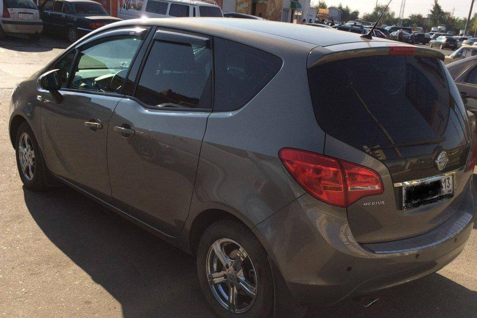 Opel Meriva 1.4 MT (140 л.с.) отзыв автовладельца