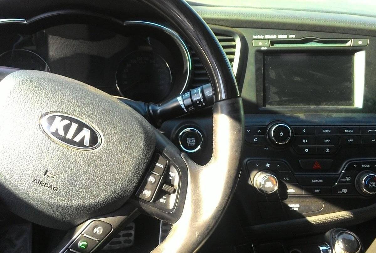 Kia Optima III 2.0 л 150 л.с. бензин 2013 год отзыв автовладельца