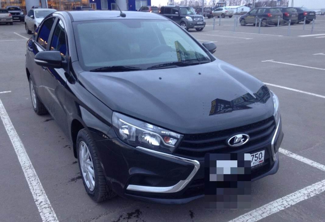 ВАЗ (Lada) Vesta 1.6 л106 л.с.бензин автомат 2016 годотзыв автовладельца