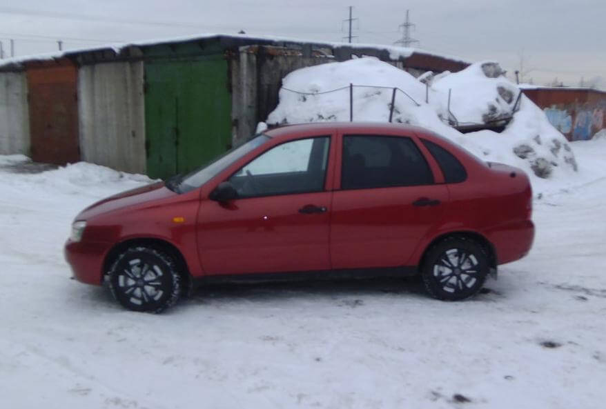 ВАЗ (Lada) Kalina I 1.6 л 81 л.с. бензин механика 2010 отзыв автовладельца