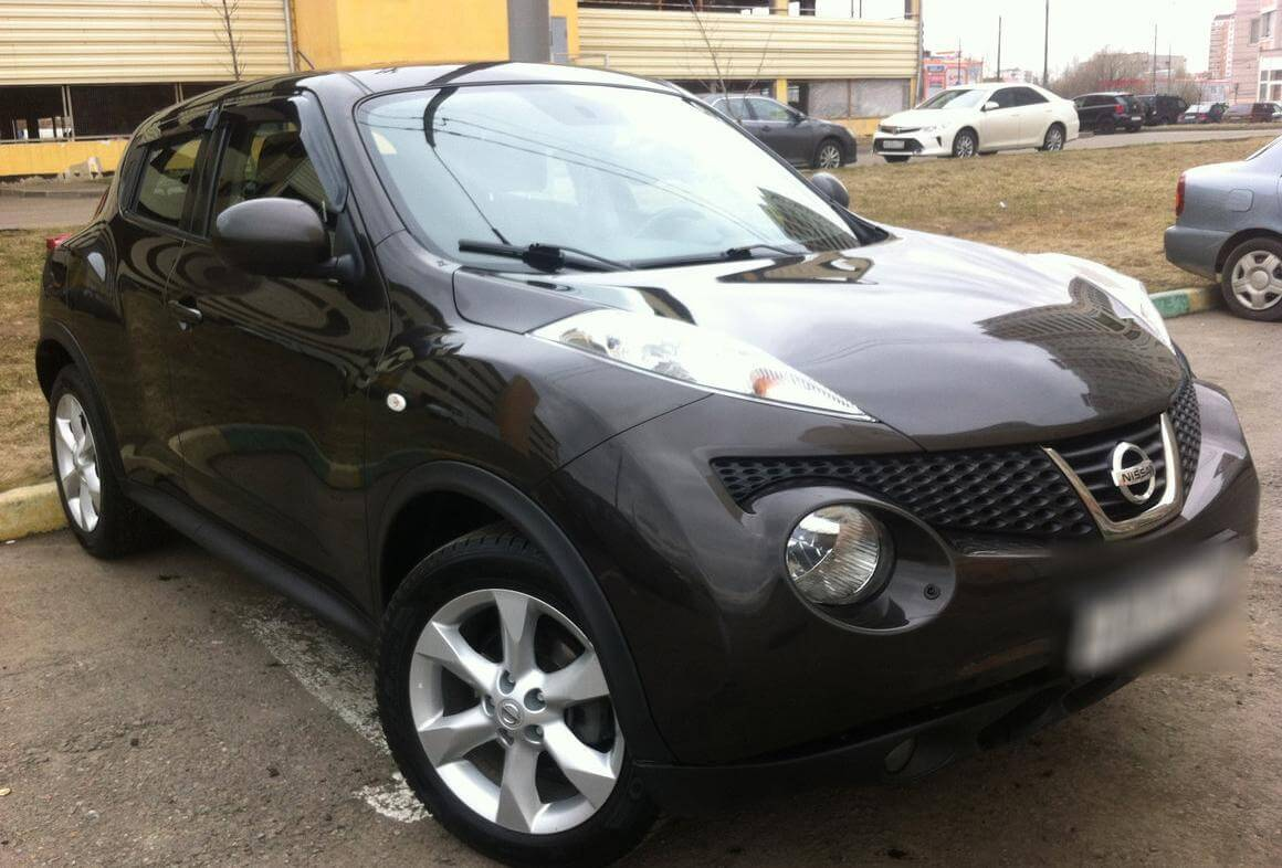Nissan Juke 1,6 CVT 2011 акпп отзыв автовладельца