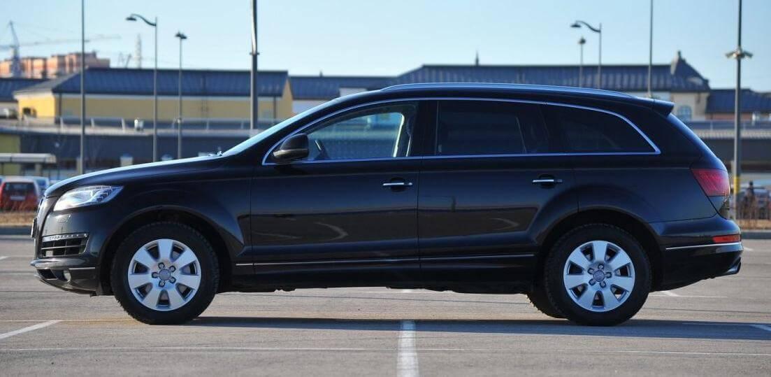 Audi Q7 I 3.0 л 245 л.с. дизель АВТОМАТ 2014 отзыв автовладельца