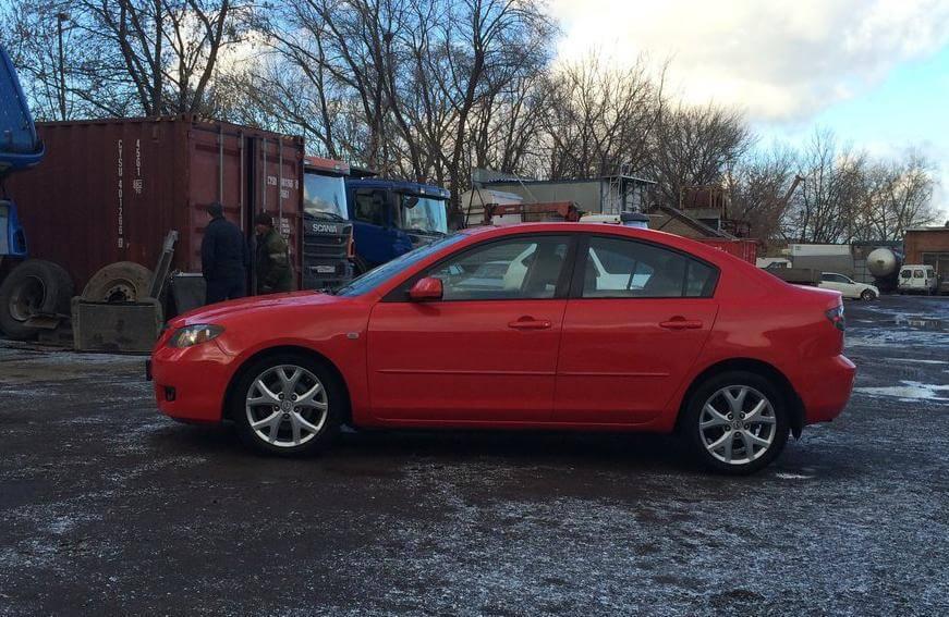 Mazda 3, 1.6 механика 2007 отзыв автовладельца