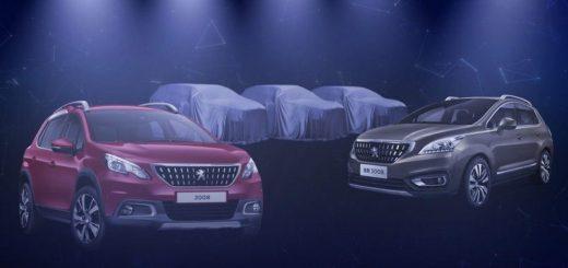 Peugeot рассказала о 3-х новых кроссоверах