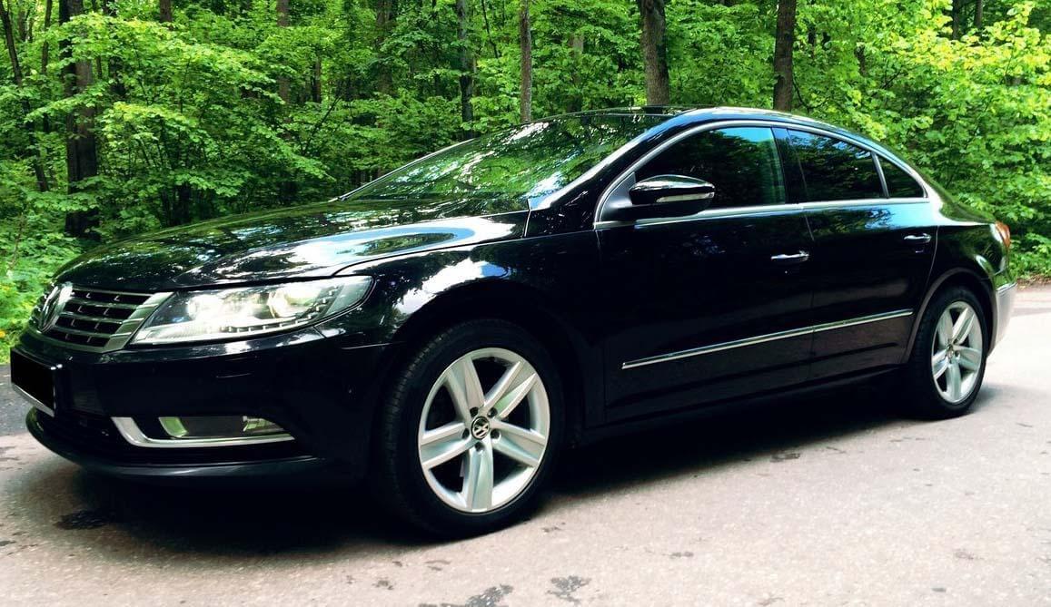 Volkswagen Passat CC I Рестайлинг 1.8 л 152 л.с. бензин 2013 Робот отзыв автовладельца