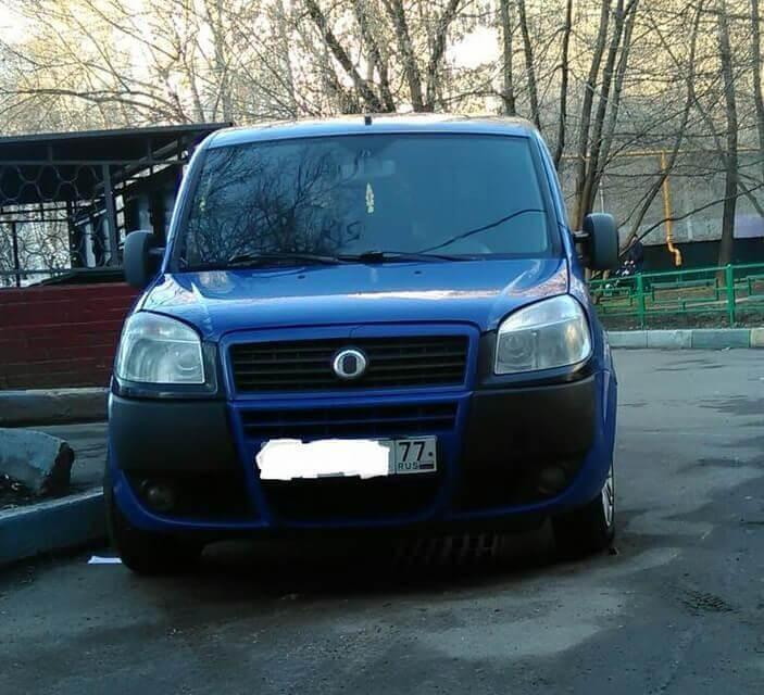 Fiat Doblo I Рестайлинг 1.2 л 85 л.с. дизель 2010 Механика отзыв автовладельца