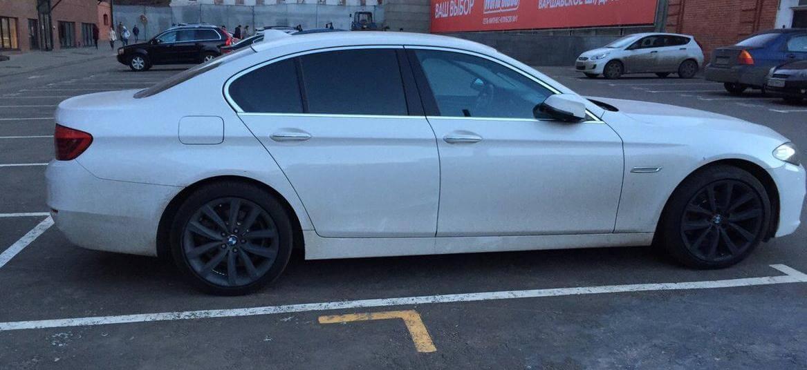 BMW 5-series 2.0 л 245 л.с. бензин 2014 Автомат отзыв автовладельца