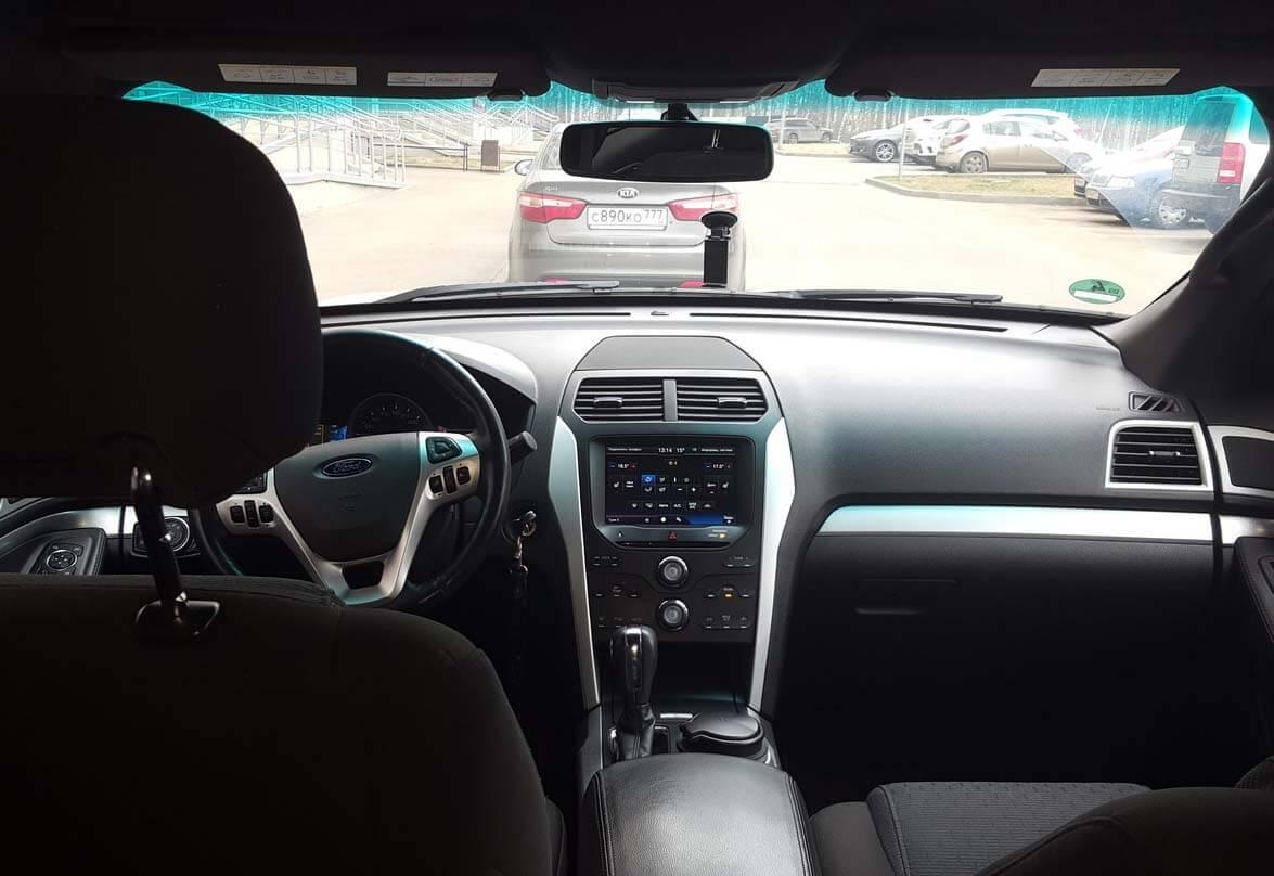 Ford Explorer V 3.5 л 294 л.с. бензин 2014 Автомат отзыв автовладельца