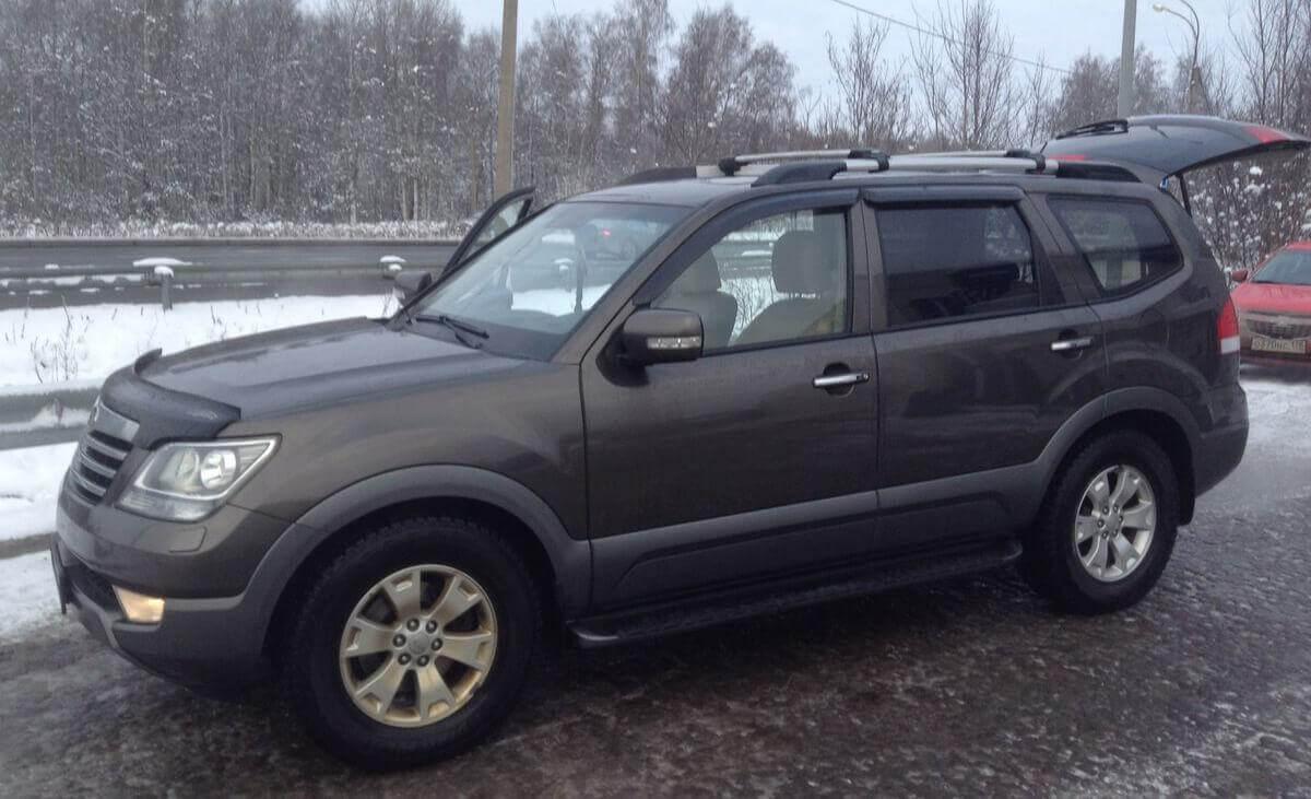 Kia Mohave 3.0 л 250 л.с. дизель 2012 Автомат отзыв автовладельца