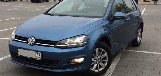 Volkswagen Golf VII 1.4 л 122 л.с. бензин 2013 Робот отзыв автовладельца