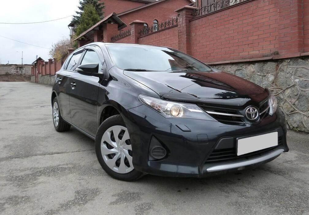Toyota Auris II 1.6 л 132 л.с. бензин 2014 Вариатор отзыв автовладельца