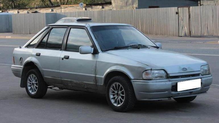 Ford Escort IV 1.4 л 75 л.с. бензин 1988 Механика отзыв автовладельца