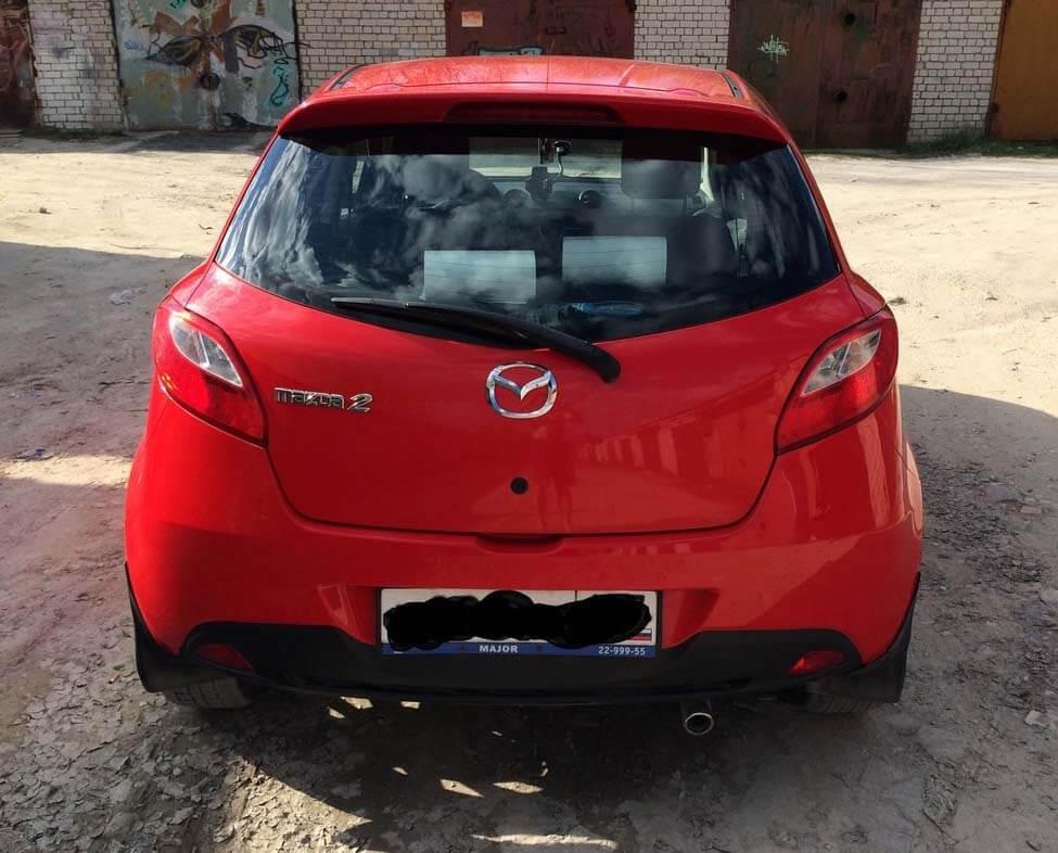 Mazda 2 II (DE) 1.5 л 103 л.с. бензин 2008 Механика отзыв автовладельца