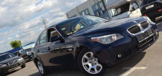 BMW 5er V (E60/E61) Рестайлинг 2.5 л 218 л.с. бензин 2006 Автомат отзыв автовладельца