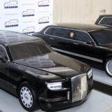 В 2017 году в гараж президента должны поступить автомобили из проекта «Кортеж»