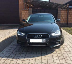 Audi A4 IV (B8) 1.8 л 170 л.с. бензин 2013 Вариатор отзыв автовладельца