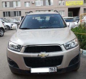 Chevrolet Captiva I Рестайлинг 2.4 л 167 л.с. бензин 2012 Автомат отзыв автовладельца