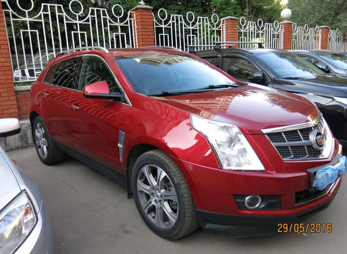 Cadillac SRX II Рестайлинг 3.0 л 271 л.с. бензин 2013 Автомат отзыв автовладельца