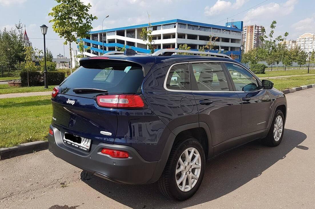 Jeep Cherokee V (KL) 2.4 л 177 л.с. бензин 2014 Автомат отзыв автовладельца