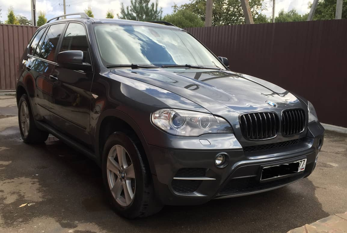 BMW X5 II (E70) Рестайлинг 30d 3.0 л 245 л.с. дизель 2012 Автомат отзыв автовладельца