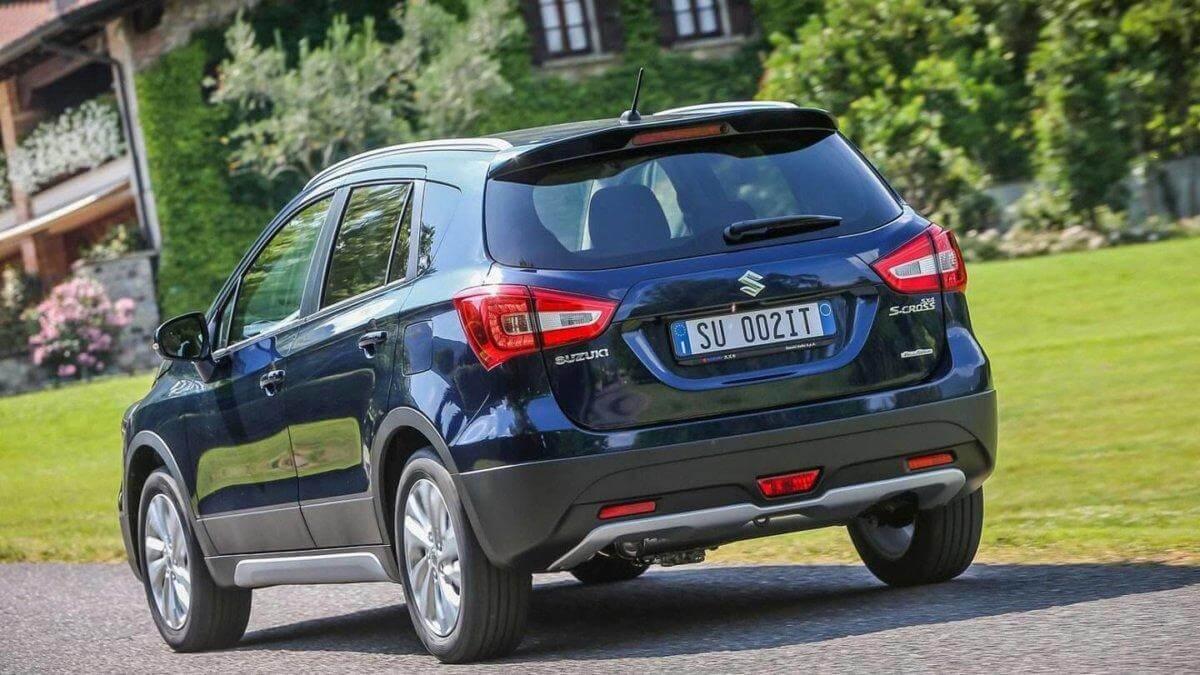 Обновлённый Suzuki sx4 2016-2017