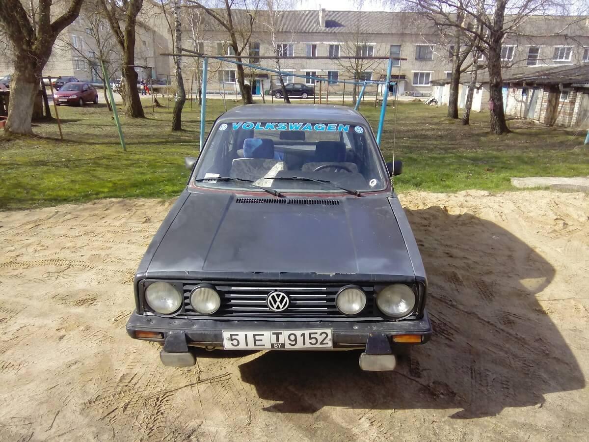 Volkswagen golf 1 1.6  54 1982 Механика отзыв автовладельца
