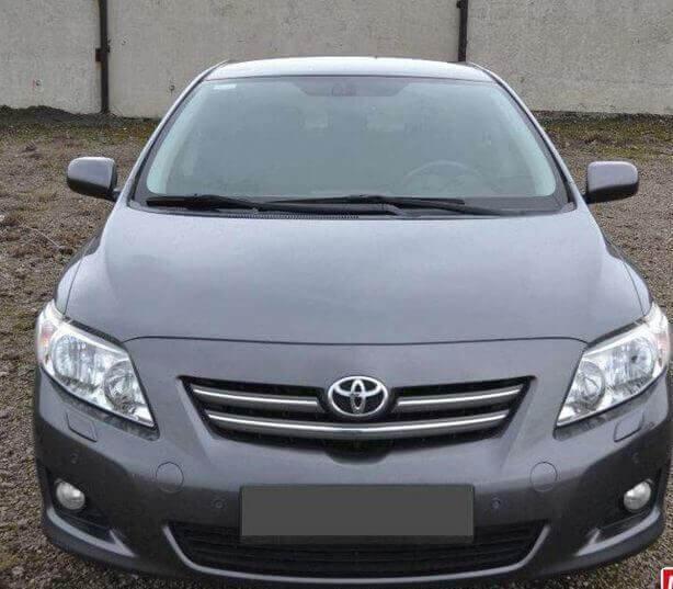 Toyota Corolla 1.6 2008 Механика отзыв автовладельца