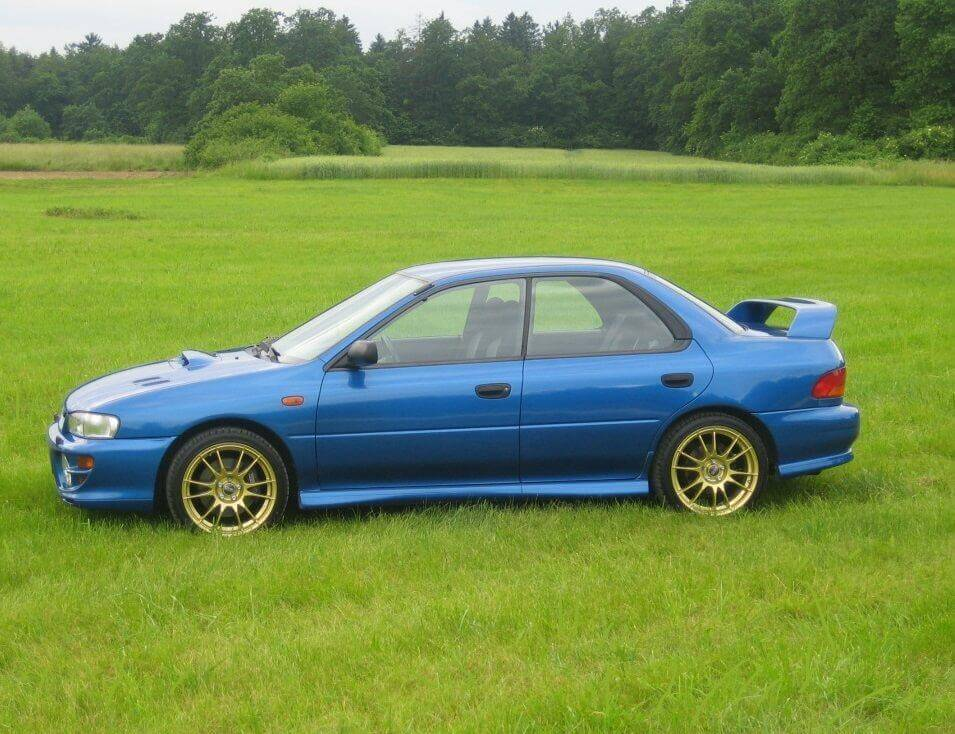 Subaru Impreza 1999, 1.5 литра, бензин, 90л.с. 1998 Механика отзыв автовладельца