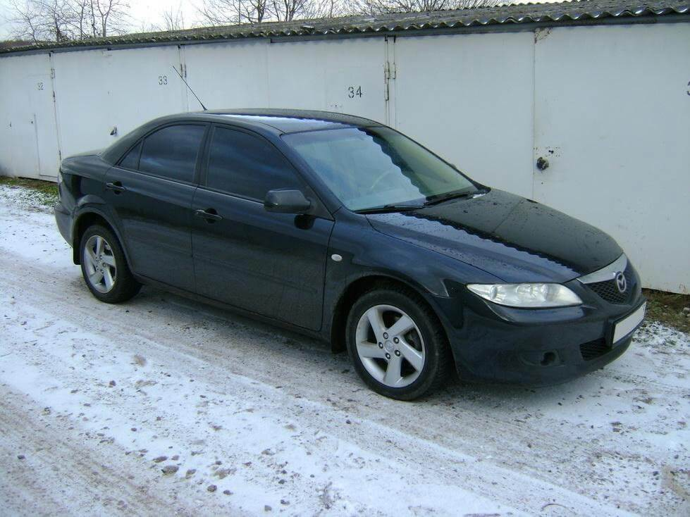 Mazda 6 2 2005 Автомат отзыв автовладельца