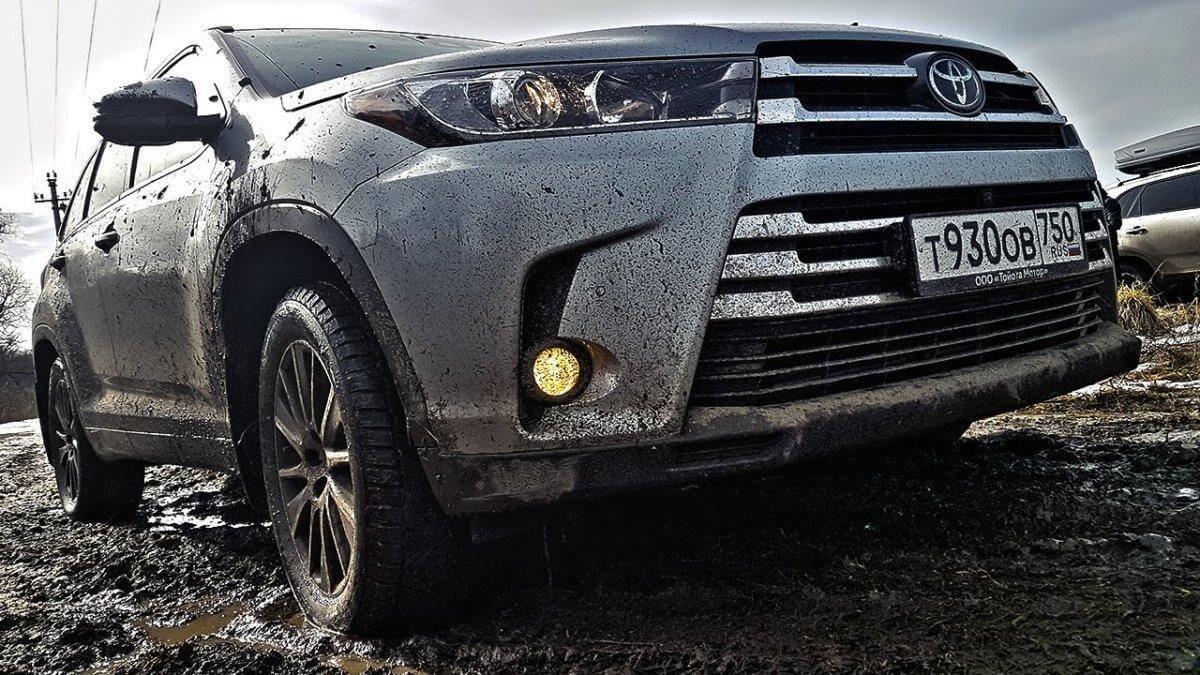 Тест драйв и обзор Toyota Highlander 2017!