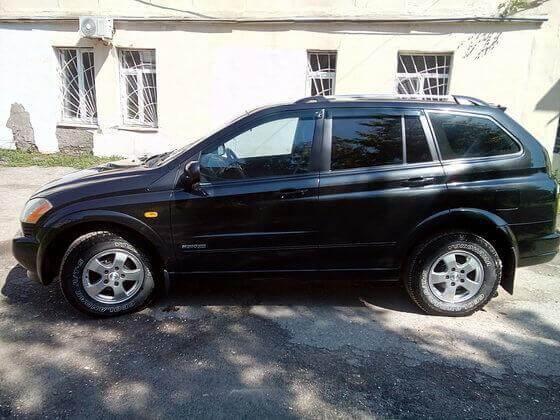 SsangYong Kyron 2.0 л, дизель, 141 л.с. 2007 Автомат отзыв автовладельца