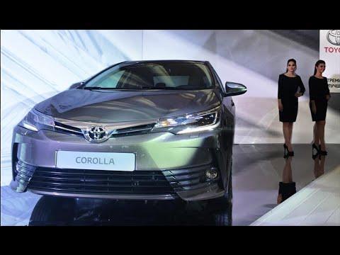 Видео обзор новой Тойоты Короллы 2017