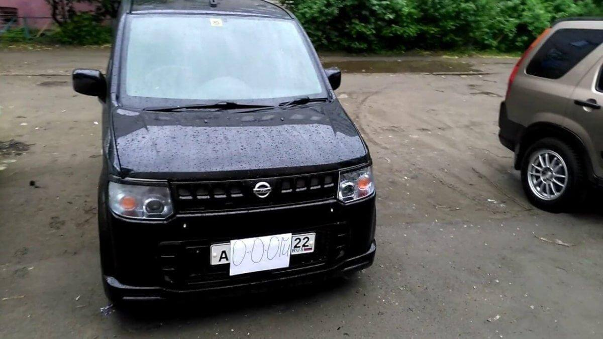 Японская кроха на автомате - Nissan Otti