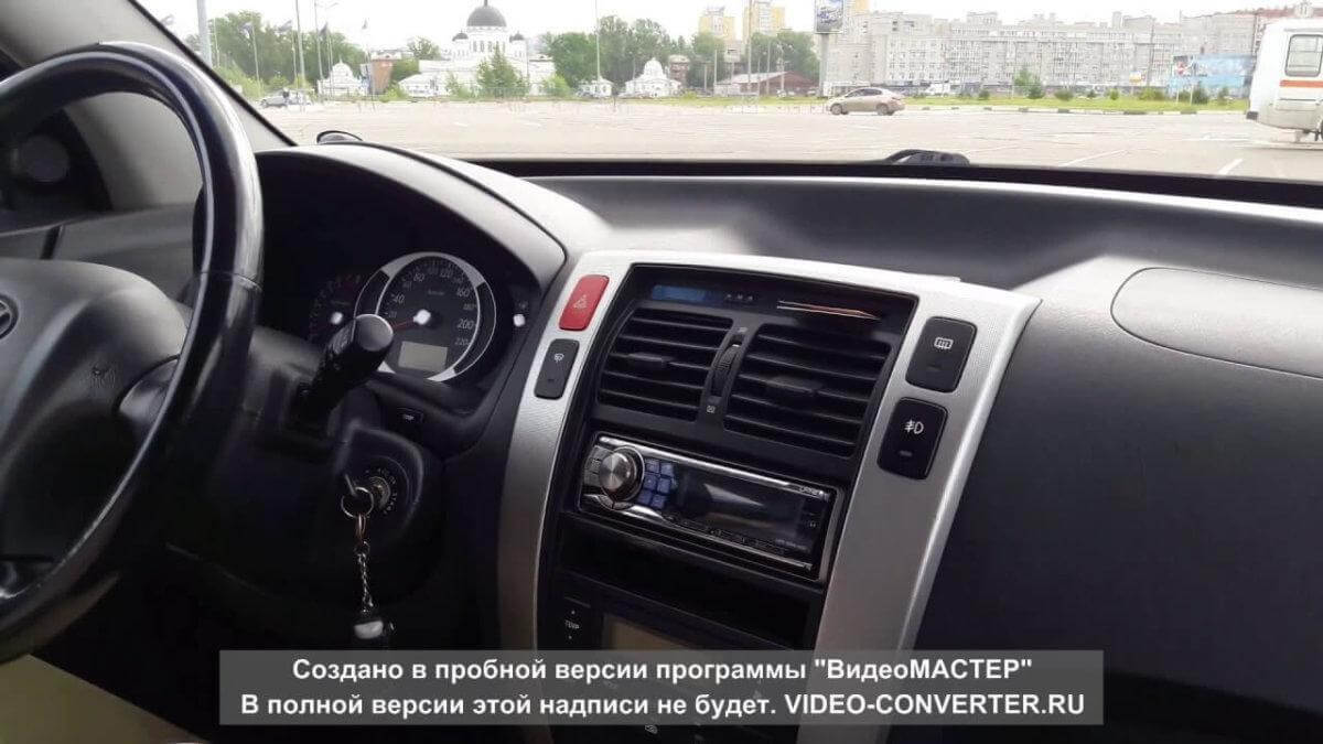Hyunday Tuscon обзор автомобиля