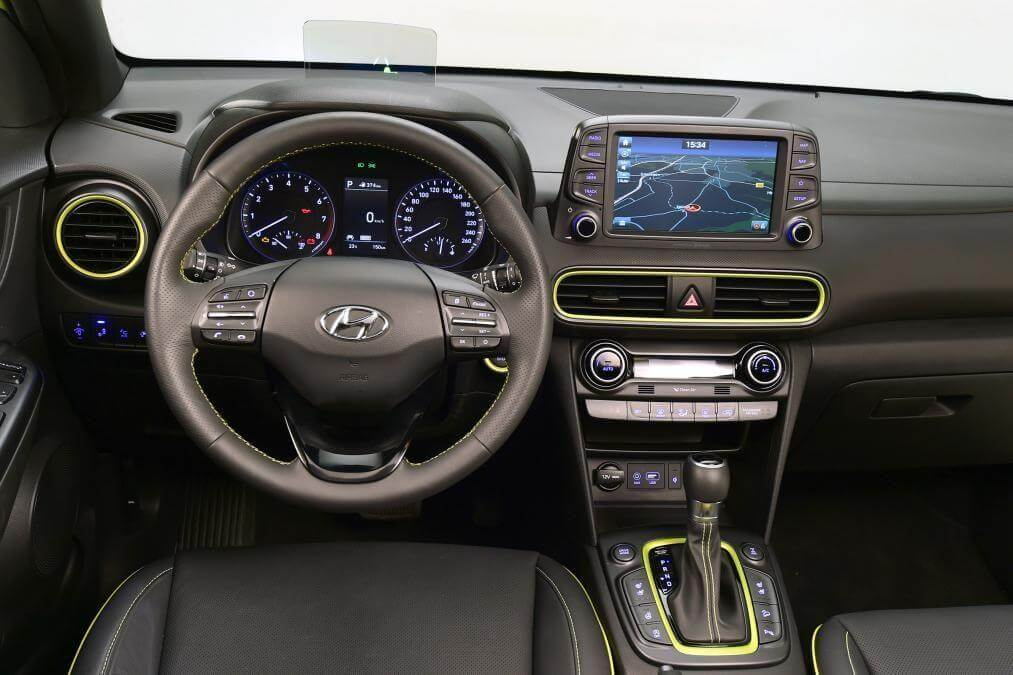 Hyundai KONA 2017 салон