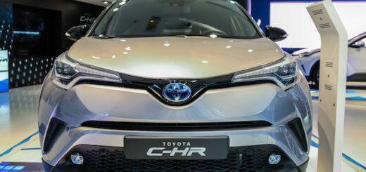 Обзор новой Toyota C-HR