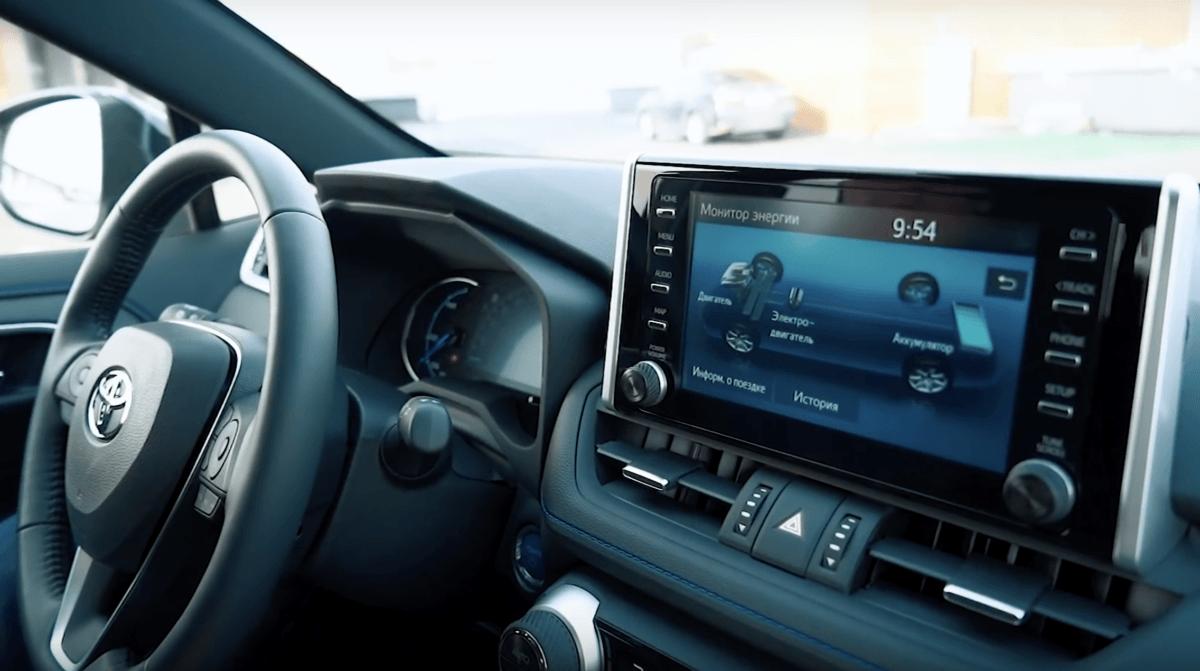 Toyota RAV 4 2019 торпедо