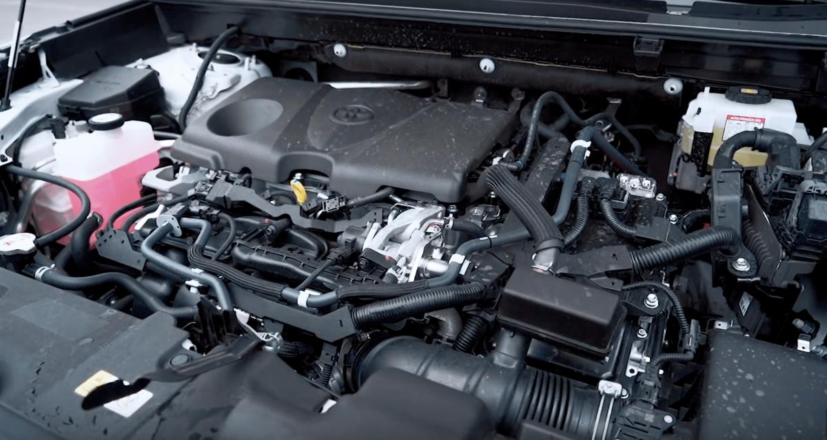 Двигатели и трансмиссия Toyota RAV 4