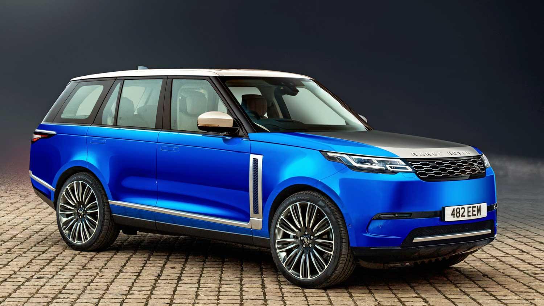 Новый Range Rover 2021
