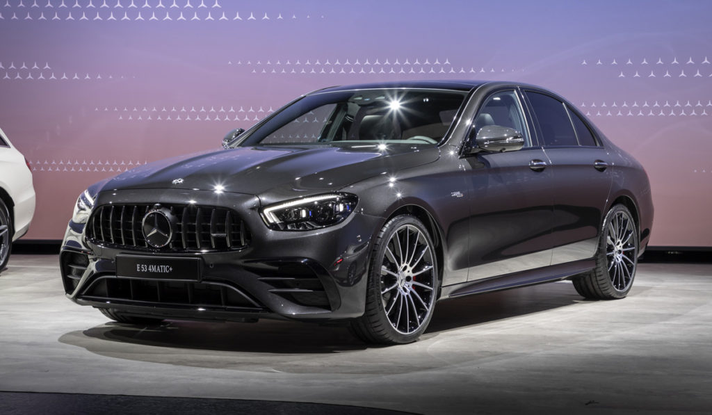 Mercedes также обновил самый мощный E-Class