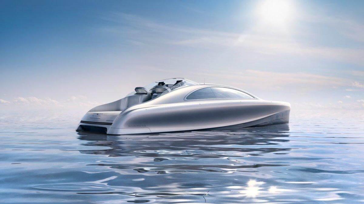 Mercedes-Benz выпустил первую люксовую яхту