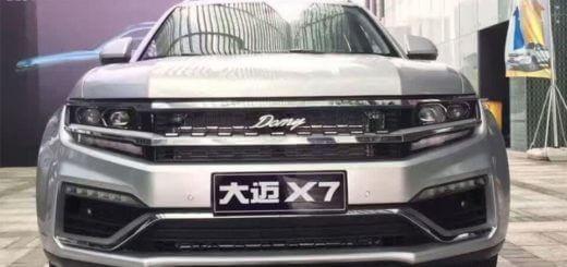 ZOTYE DAMAI X7 - китайцы снова копируют бренды