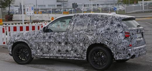 Обновлённый кроссовер BMW X3